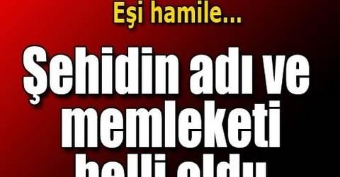 Şah Fırat operasyonunda Başçavuş Halit Avcı şehit oldu!!
