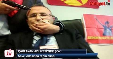 Berkin Elvan Soruşturmasını Yürüten Mehmet Selim Kiraz Çağlayan Adliyesi'nde Savcı Rehin Alındı