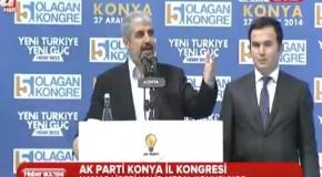 Hamas Lideri Halid Meşal Ak Parti Konya İl Kongre Konuşması 27 Aralık 2014