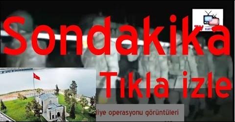 Süleyman Şah Türbesi Şah Fırat Operasyonu Görüntüleri (22.02.2015)