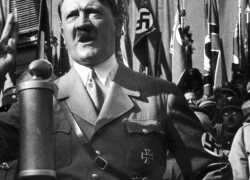 Hitler's handwritten speech notes sold at auction 'above asking price'